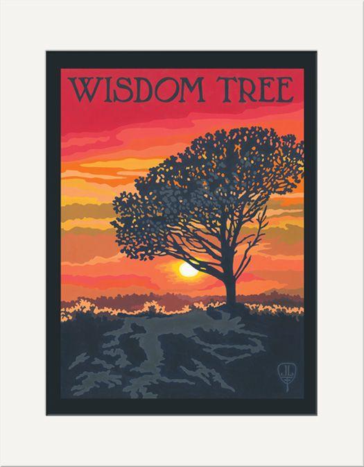 Wisdom Tree - The Bungalow Craft by Julie Leidel