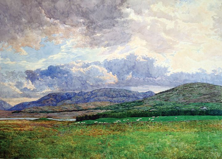 Connemara Mountains - Kozhin Fine Art