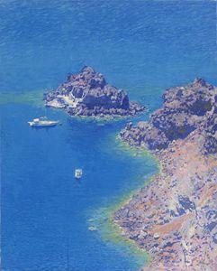 Harbor. Santorini Island