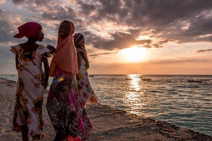 African Sunset - Daniel San