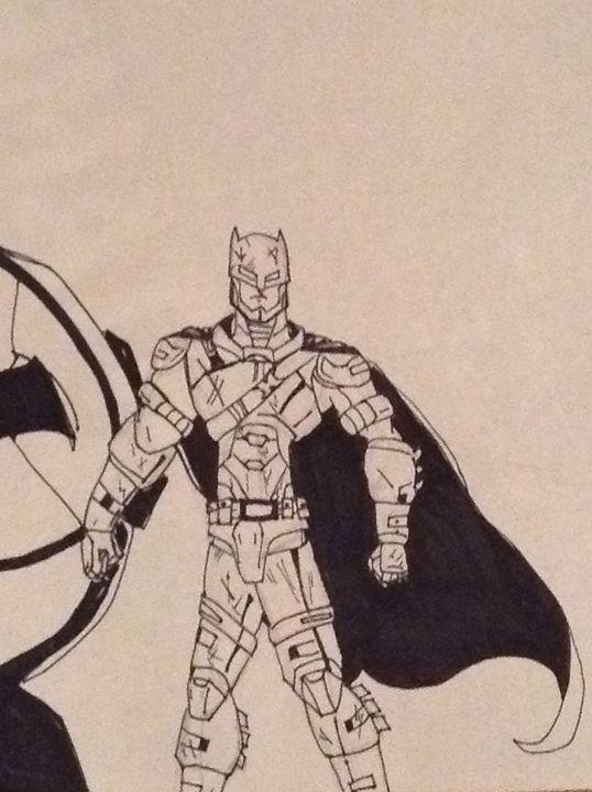 Armored Batman - The Man of Steel