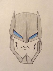 Face of the Armored Batman