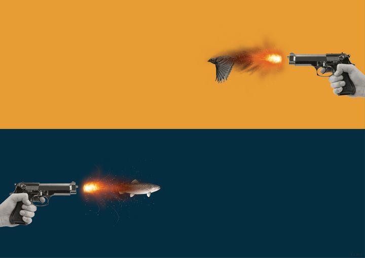 Fishbird gun - Kicking Inspiration