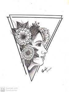 Girl blossoms