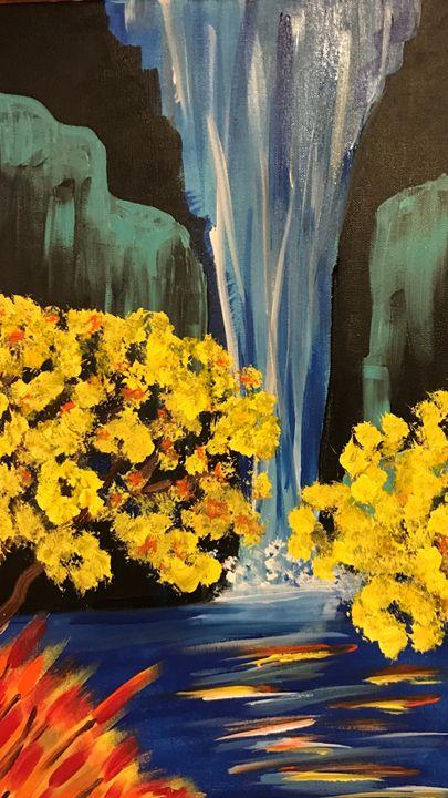 Falls into spring - BMA
