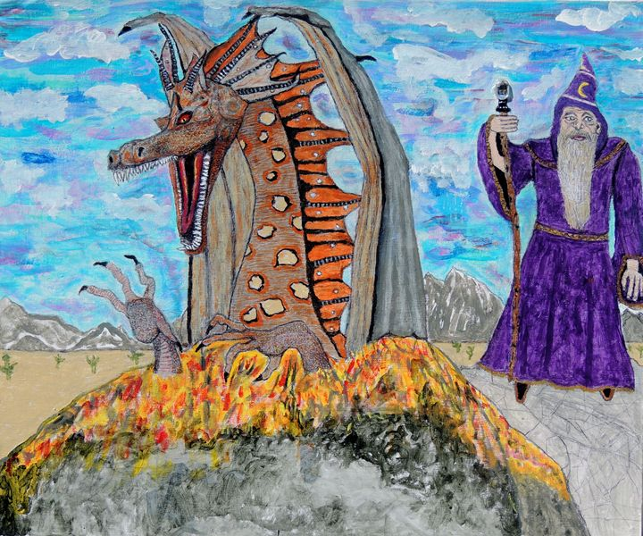 Dragon summons. - Ken's Rockstars on parade