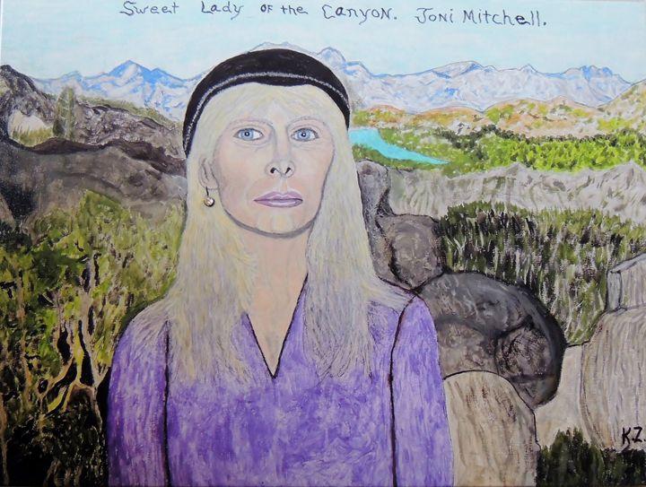 Joni Mitchell.laurel canyon. - Ken's Rockstars on parade