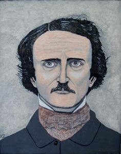 Telltale heart of Edgar Allan Poe.
