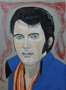 """""""One night with you"""". Elvis Presley. - Ken's Rockstars on parade"""
