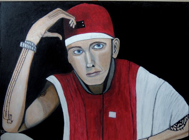 """""""Lose yourself"""" Eminem. - Ken's Rockstars on parade"""