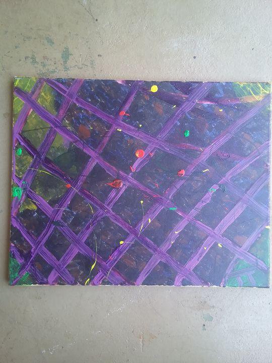 Green 👽 - THE purple light