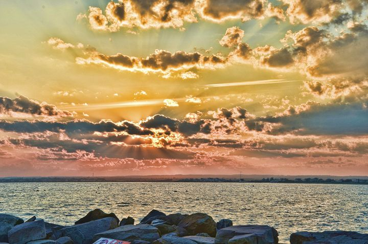 Narragansett sunset - PhotosbyNan