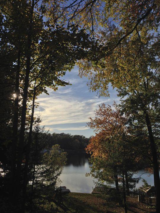 The backyard in fall - PhotosbyNan