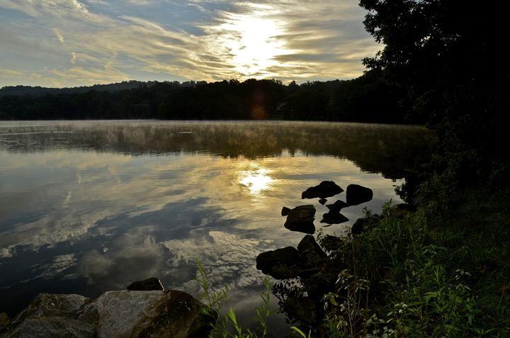 Sunrise on Putnam Lake - PhotosbyNan