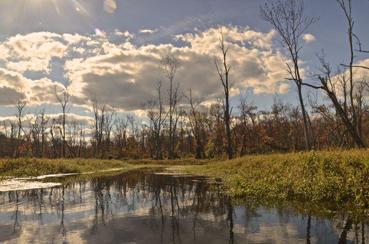 Cloud Reflections - PhotosbyNan