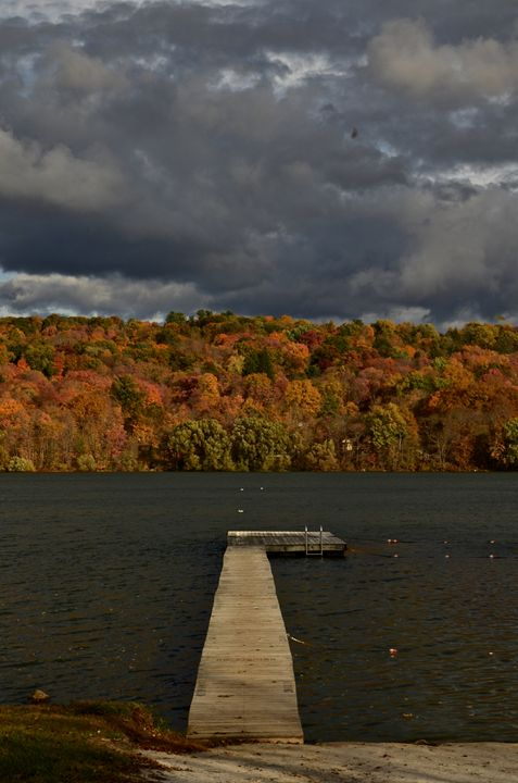 Fall in Putnam Lake - PhotosbyNan