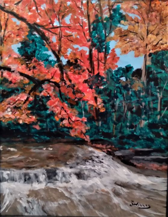 Fall Study - Jim Willis Art