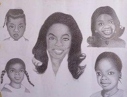 Oprah Winfrey's Life in Stages - Shunom'sArt