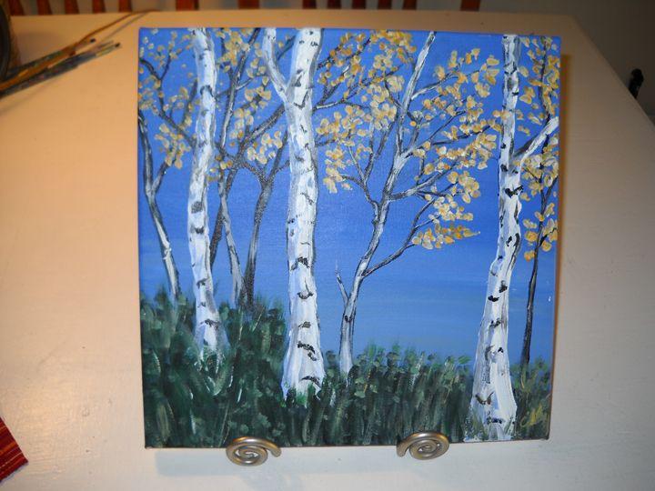 Birch Trees - Seaside Artisans