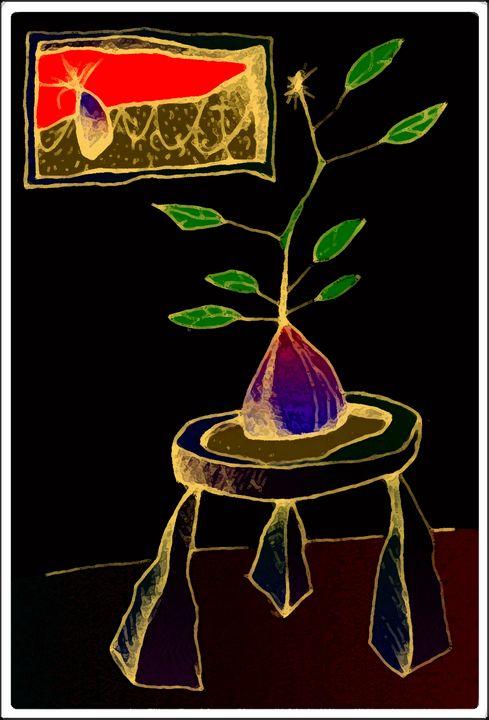 Baby Plant on Table 2 - fOOnOOn.com