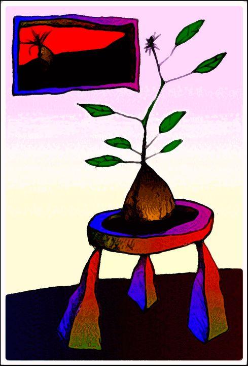 Baby Plant on Table 4 - fOOnOOn.com