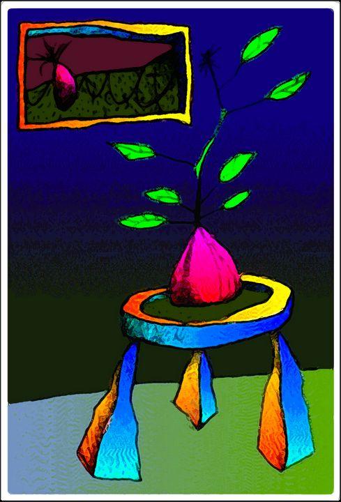 Baby Plant on Table 5 - fOOnOOn.com