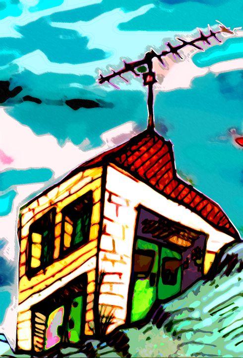 House in Clouds 1 - fOOnOOn.com