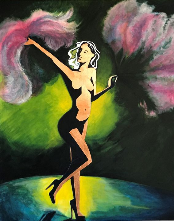 Burlesque_green - (Y) Ylva Maria Thompson