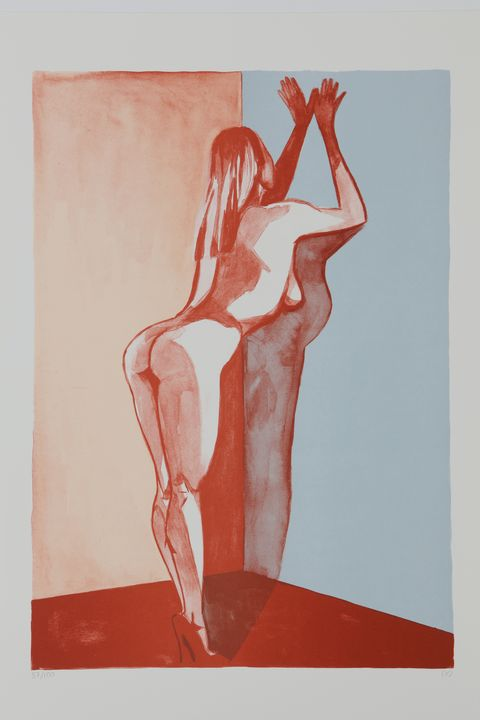 The blonde - (Y) Ylva Maria Thompson