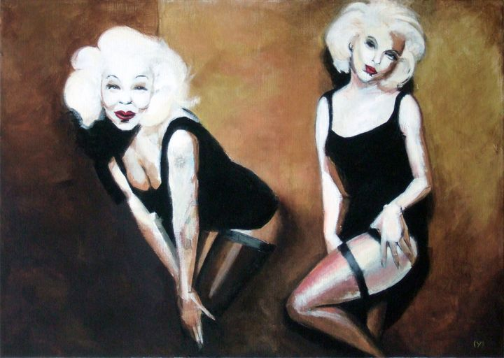 In the golden room - (Y) Ylva Maria Thompson