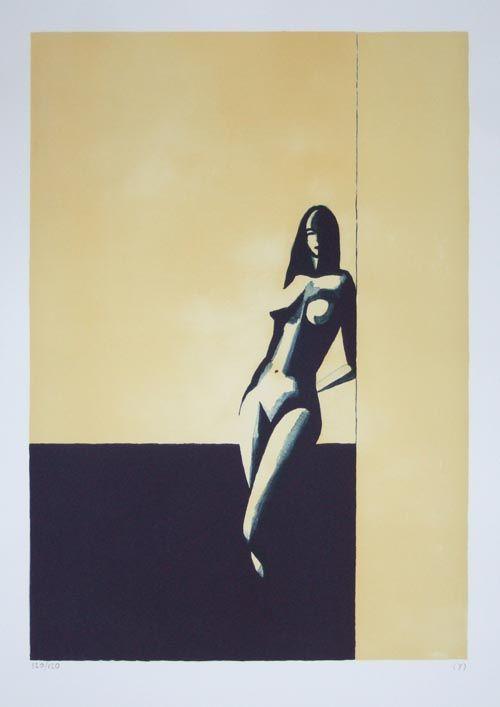 Standing in the sun - (Y) Ylva Maria Thompson