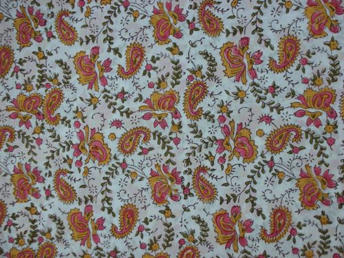 Hand Block Printed Pure Cotton - Handicrafts House