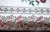 King Size Block Printed Bed Sheet