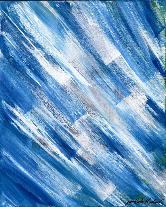 Blue Number 3 - Jean Karlo Mundovi