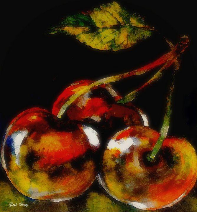 BING CHERRIES - Gayle Berry