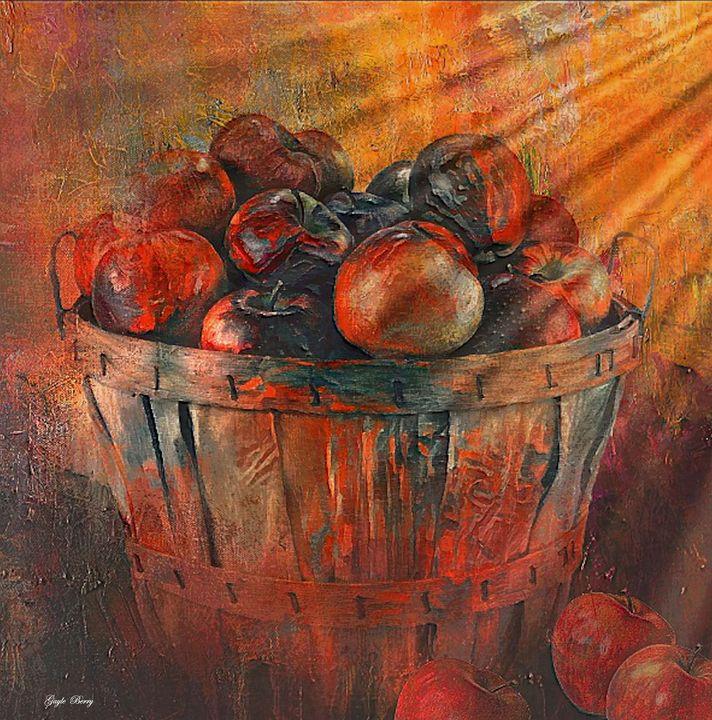 BASKET OF APPLES - Gayle Berry