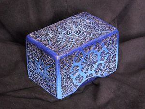 Tempra-Structure Deep-Blue deck box