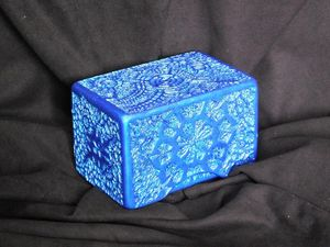 Tempra-Structure Blue-Silver box