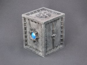 Castle-Wall Steel deck-box