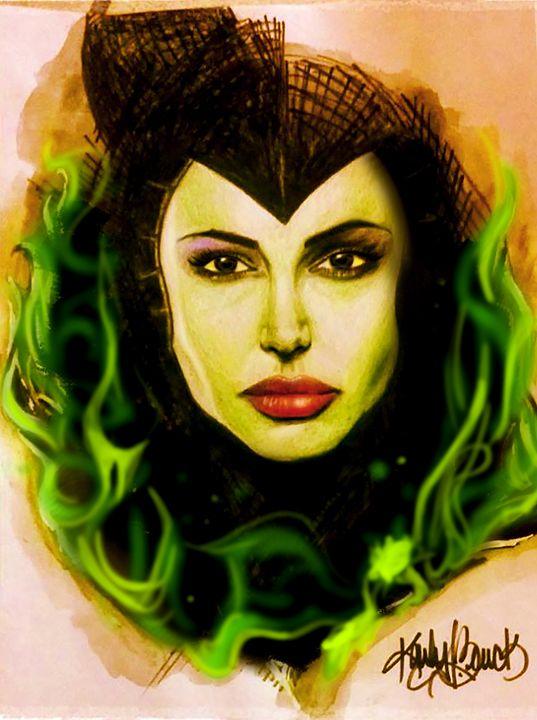 """Maleficent"" - Green Gallery (gg)"