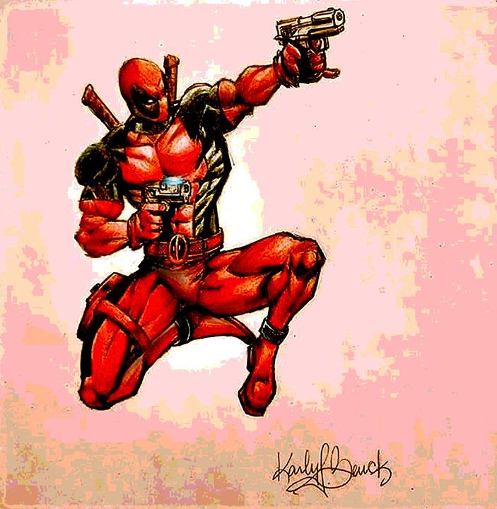 """Deadpool"" - Green Gallery (gg)"