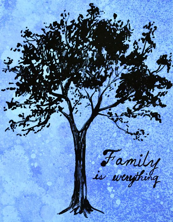 Family Is Everything - Green Gallery (gg)
