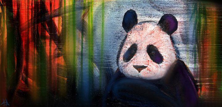 """Panda-In-A-Box"" - Green Gallery (gg)"