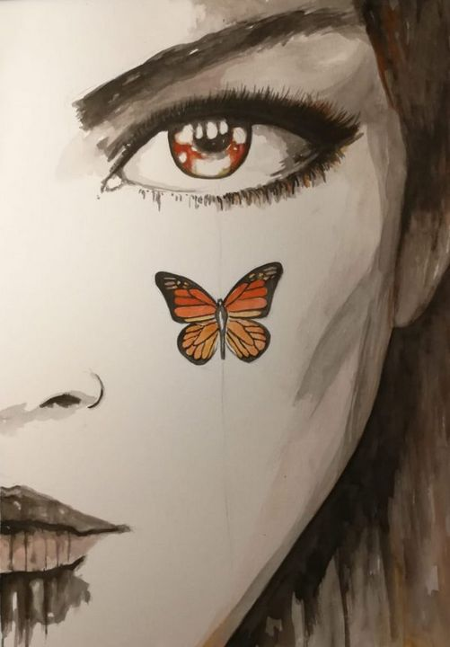 Butterfly Eye - Paintings