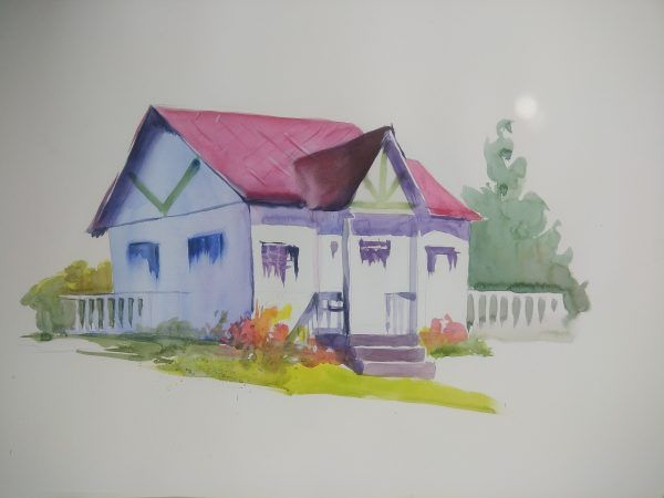 The Empty House - Paintings