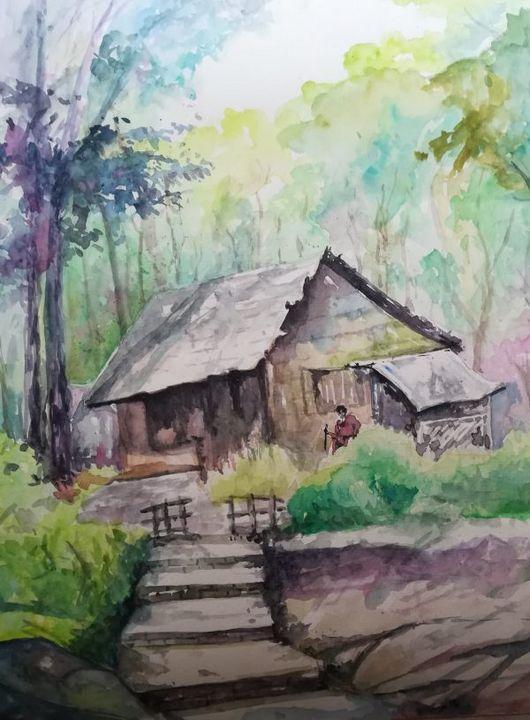 The Last Village Man - Paintings