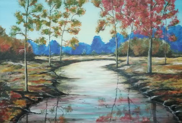 Lakeside - Paintings