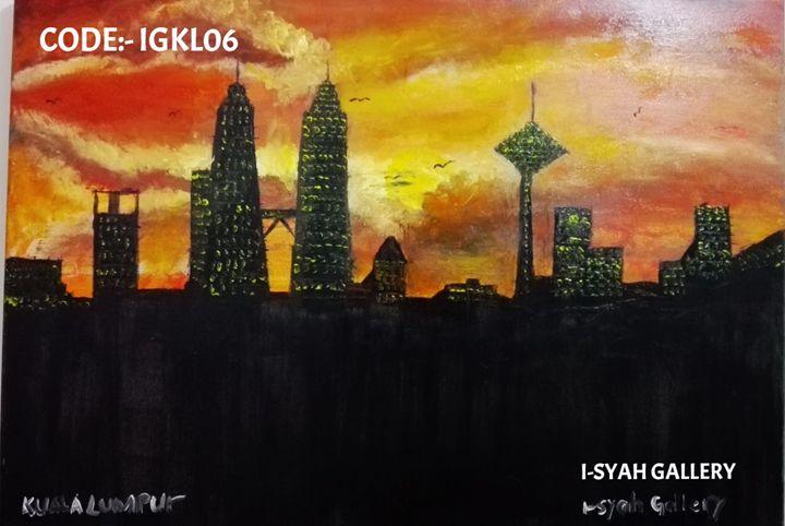Kuala Lumpur , Malaysia sunset view - I-SYAH GALLERY