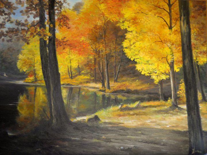 Autumn Silence - Sorin Apostolescu Fine Art