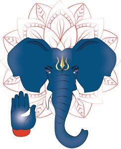 Ganesh Coming from the Mandala
